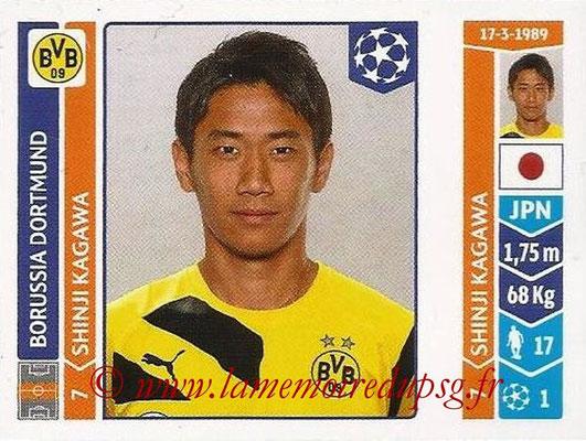 2014-15 - Panini Champions League N° 278 - Shinji KAGAWA (Borussia Dortmund)