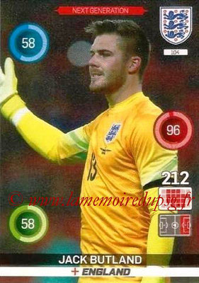 Panini England 2016 Adrenalyn XL - N° 104