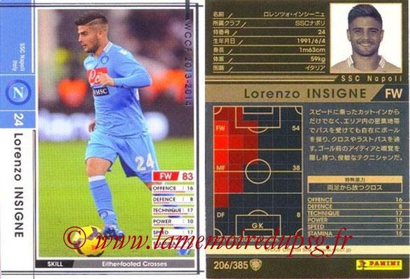 2013-14 - WCCF - N° 206 - Lorenzo INSIGNE (SSC Napoli)