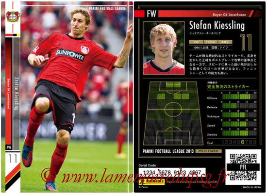 Panini Football League 2013 - PFL01 - N° 154 - Stefan Kiessling ( Bayer 04 Leverkusen )