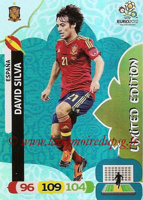Panini Euro 2012 Cards Adrenalyn XL - N° LE23 - David SILVA (Espagne) (Limited Edition)