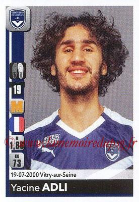 2018-19 - Panini Ligue 1 Stickers - N° T05 - Yacine ADLI (Bordeauxs) (Transfert)