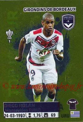 2014-15 - Panini Ligue 1 Stickers - N° 048 - Diego ROLAN (Girondins de Bordeaux)