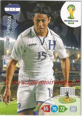 2014 - Panini FIFA World Cup Brazil Adrenalyn XL - N° 190 - Roger ESPINOZA (Honduras)