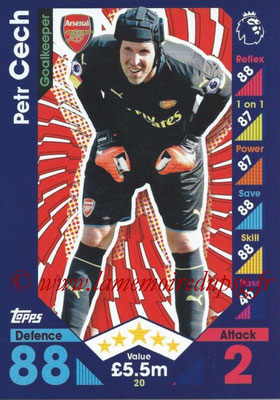 2016-17 - Topps Match Attax Premier League - N° 020