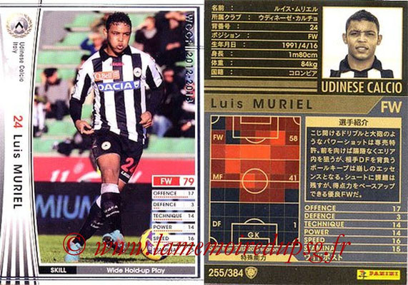 2012-13 - WCCF - N° 255 - Luis MURIEL (Udinese  Calcio)