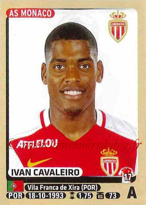 2015-16 - Panini Ligue 1 Stickers - N° 262 - Ivan CAVALEIRO (AS Monaco)