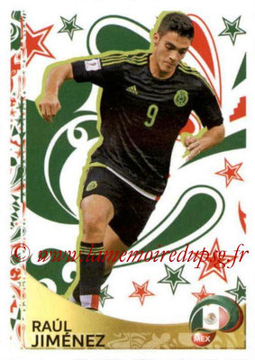Panini Copa America Centenario USA 2016 Stickers - N° 421 - Raul JIMENEZ (Mexique) (En action)