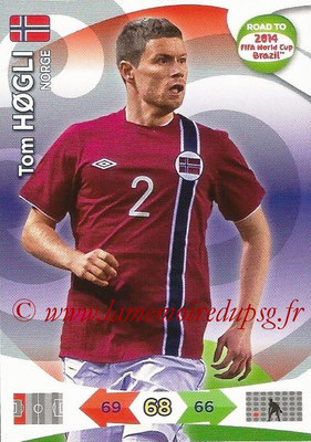2014 - Panini Road to FIFA World Cup Brazil Adrenalyn XL - N° 142 - Tom HOGLI (Norvège)