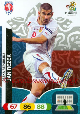 Panini Euro 2012 Cards Adrenalyn XL - N° 012 - Jan REZEK (République Tchèque)