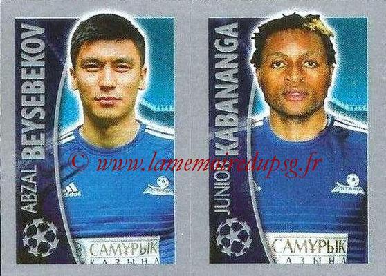 2015-16 - Topps UEFA Champions League Stickers - N° 220 - Abzal BEYSEBEKOV + Junior KABANANGA (FC Astana)