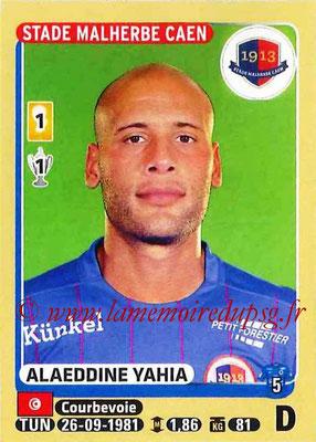 2015-16 - Panini Ligue 1 Stickers - N° 108 - Alaeddine YAHIA (SM Caen)