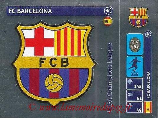 2014-15 - Panini Champions League N° 025 - Logo FC Barcelona