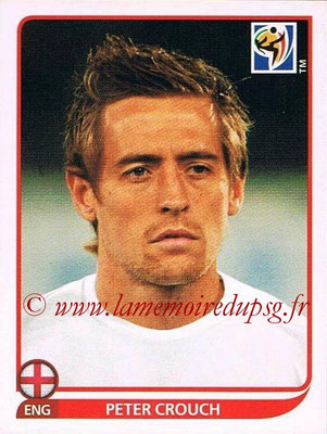 2010 - Panini FIFA World Cup South Africa Stickers - N° 200 - Peter CROUCH (Angleterre)