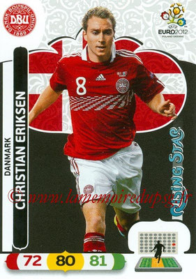 Panini Euro 2012 Cards Adrenalyn XL - N° 018 - Christian ERIKSEN (Danemark) (Rising Star)