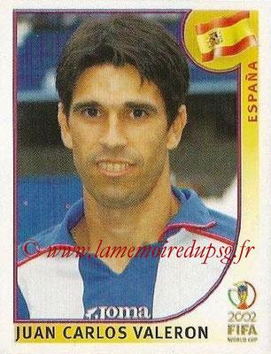 2002 - Panini FIFA World Cup Stickers - N° 109 - Juan Carlos VALERON (Espagne)