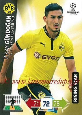 2012-13 - Adrenalyn XL champions League N° 078 - Ilkay GUNDOGAN (Borussia Dortmund) (Rising Star)