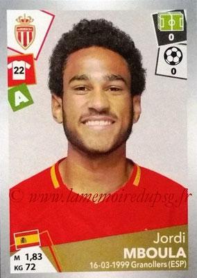 2017-18 - Panini Ligue 1 Stickers - N° 280 - Jordi MBOULA (Monaco)