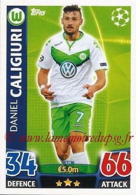 2015-16 - Topps UEFA Champions League Match Attax - N° 119 - Daniel CALIGIURI (VFL Wolfsburg)