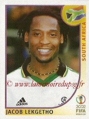 2002 - Panini FIFA World Cup Stickers - N° 159 - Jacob LEKGETHO (Afrique du Sud)