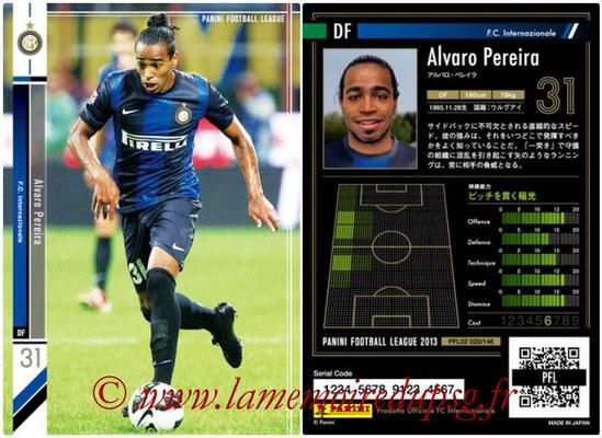 Panini Football League 2013 - PFL02 - N° 020 - Alvaro Pereira ( F.C. Internazionale )