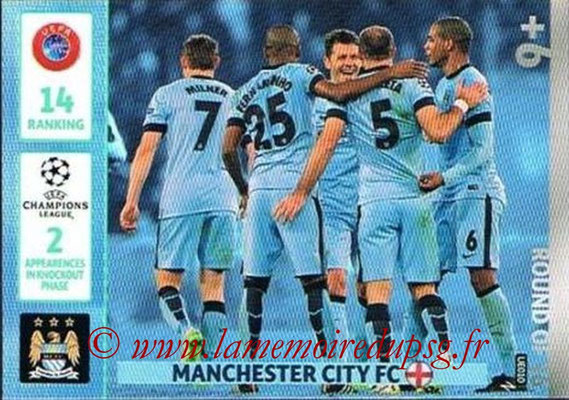 2014-15 - Adrenalyn XL champions League Update edition N° UE010 - Manchester City (Round of 16)