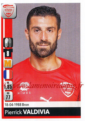 2018-19 - Panini Ligue 1 Stickers - N° 338 - Pierrick VALDIVIA (Nîmes)