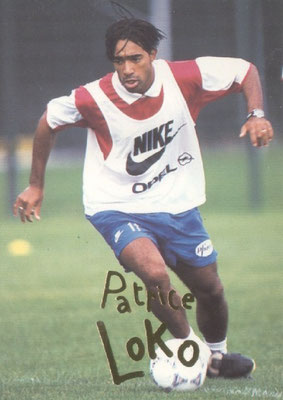N° 060 - Patrice LOKO (Recto)