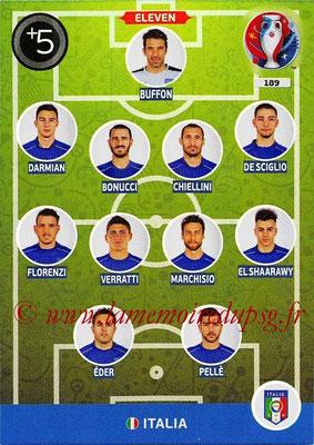 Panini Euro 2016 Cards - N° 189 - Équipe Type d' Italie