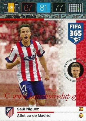 2015-16 - Panini Adrenalyn XL FIFA 365 - N° 162 - Saul NIGUEZ (Atlético de Madrid) (One to Watch)