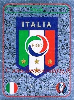 Panini Euro 2016 Stickers - N° 460 - Logo Italie