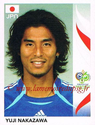 2006 - Panini FIFA World Cup Germany Stickers - N° 440 - Yuji NAKAZAWA (Japon)
