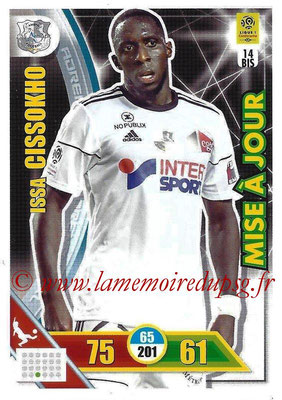 2017-18 - Panini Adrenalyn XL Ligue 1 - N° 014bis - Issa CISSOKHO (Amiens) (Mise à jour)