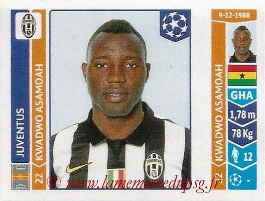 2014-15 - Panini Champions League N° 069 - Kwadwo ASAMOAH (Juventus Turin)