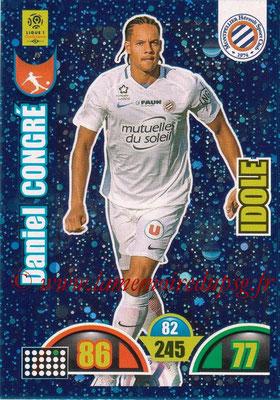 2018-19 - Panini Adrenalyn XL Ligue 1 - N° 378 - Daniel CONGRE (Montpellier) (Idole)