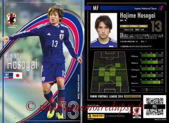 Panini Football League 2014 - PFL06W - N° 015 - Hajime HOSOGAI (Japon) (Star +)
