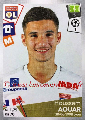 2017-18 - Panini Ligue 1 Stickers - N° 191 - Houssem AOUAR (Lyon)