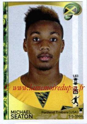 Panini Copa America Centenario USA 2016 Stickers - N° 274 - Michael SEATON (Jamaïque)