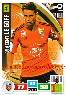 2016-17 - Panini Adrenalyn XL Ligue 1 - N° 128 - Vincent LE GOFF (Lorient)