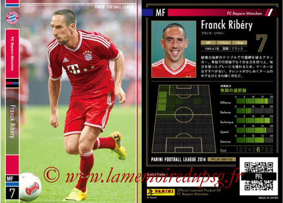 Panini Football League 2014 - PFL06 - N° 088 - Franck RIBERY (FC Bayern Munich)