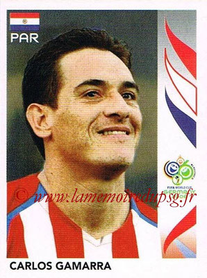 2006 - Panini FIFA World Cup Germany Stickers - N° 118 - Carlos GAMARRA (Paraguay)