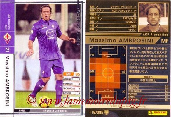 2013-14 - WCCF - N° 119 - Massimo AMBROSINI (ACF Fiorentina)