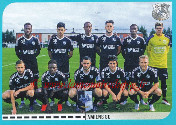 2016-17 - Panini Ligue 1 Stickers - N° 852 - Equipe Amiens