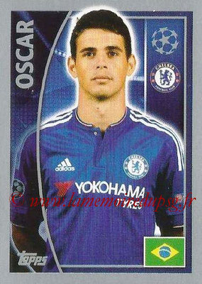 2015-16 - Topps UEFA Champions League Stickers - N° 458 - OSCAR (Chelsea FC)