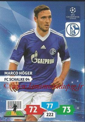 2013-14 - Adrenalyn XL champions League N° 247 - Marco HOGER (FC Schalke 04)