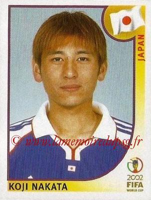 2002 - Panini FIFA World Cup Stickers - N° 537 - Koji NAKATA (Japon)