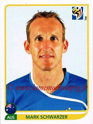 2010 - Panini FIFA World Cup South Africa Stickers - N° 279 - Mark SCHWARZER (Australie)