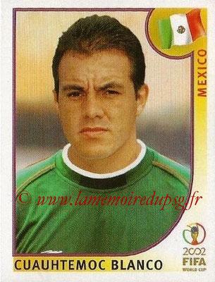 2002 - Panini FIFA World Cup Stickers - N° 508 - Cuauhtemoc BLANCO (Mexique)