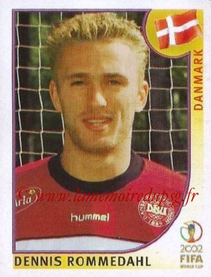 2002 - Panini FIFA World Cup Stickers - N° 094 - Dennis ROMMEDAHL (Danemark)