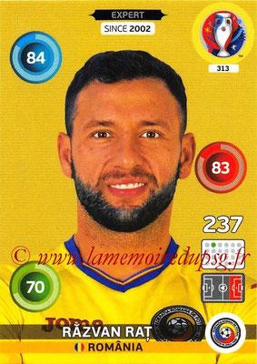 Panini Euro 2016 Cards - N° 313 - Razvan RAT (Roumanie) (Expert)
